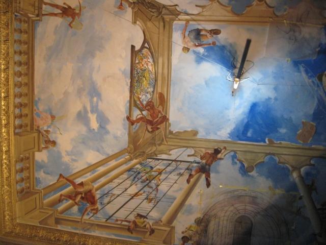 Leszek egalski gallery murals fresco for Clarks mural fresco